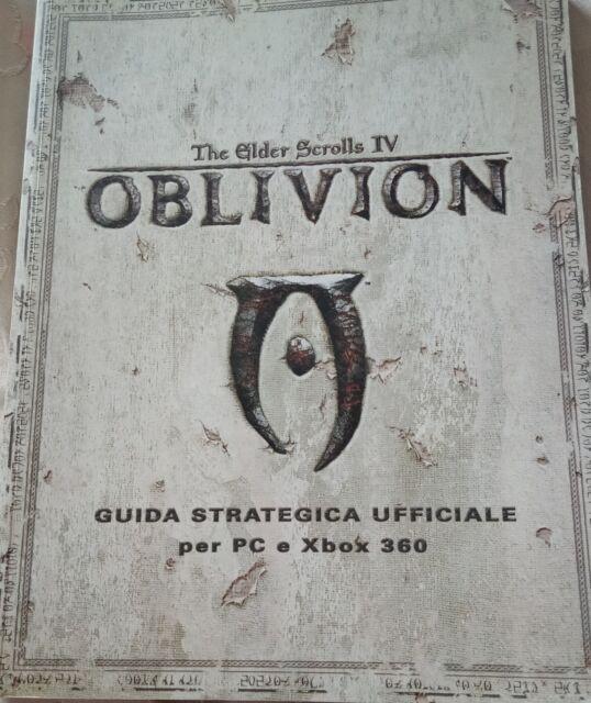 Oblivion guida strategica ufficiale PC e xbox