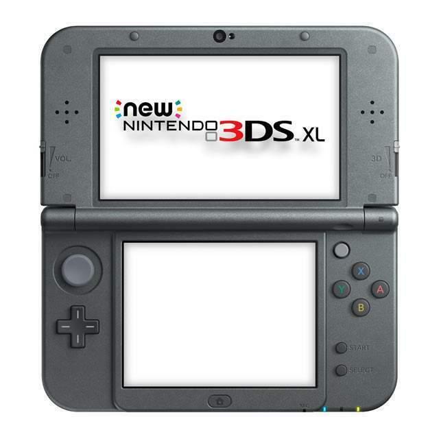 Nintendo 3DS XL Nera Metallizzata Nuova mai usata