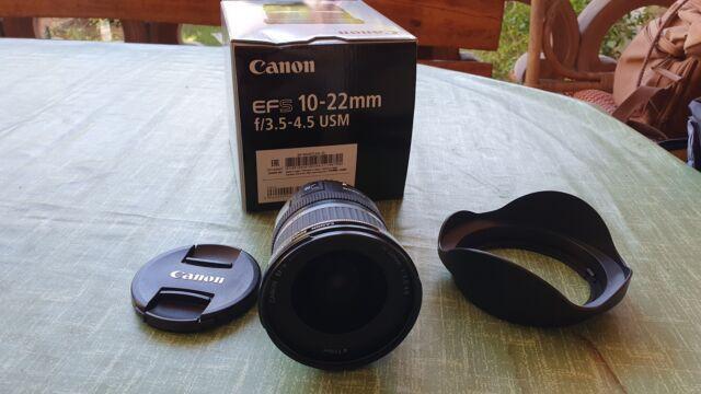 Obiettivo Canon EF-S mm f/ USM