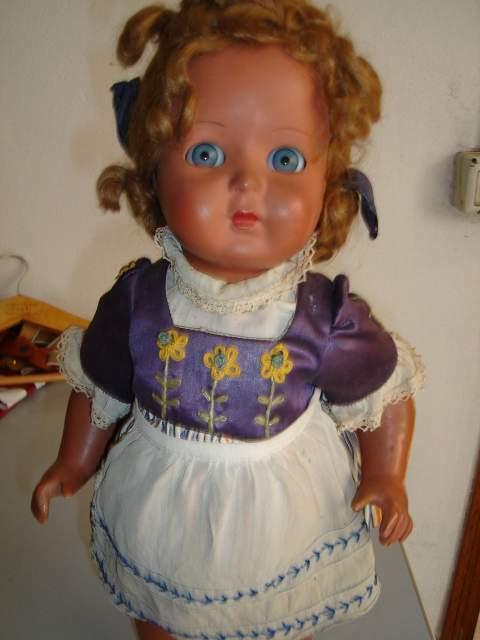 Antica Bambola anni 40 Alberani, Bonomi Vecchiotti