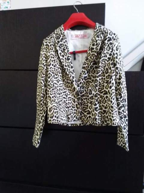 Giacca leopardata donna