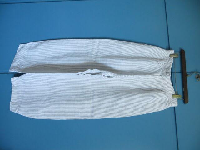 Pantaloni in lino larghi tg. 44 e 46