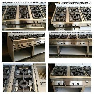 Cucina a gas nuova