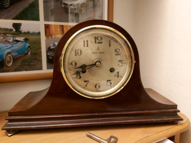 Orologio Pendolo da tavolo Gustav Becker