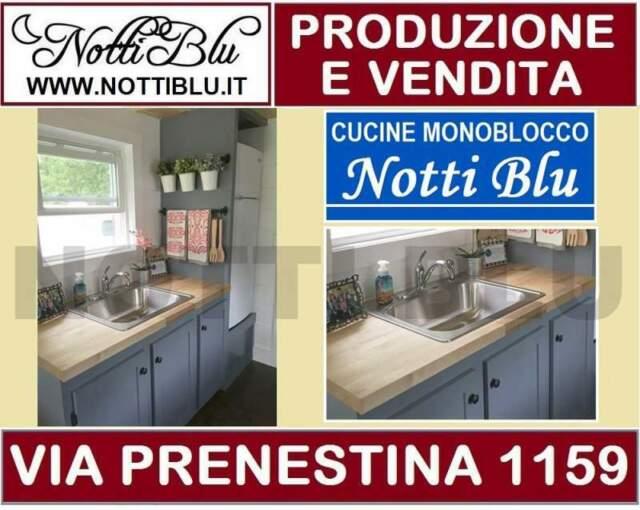 Cucina Monoblocco Notti Blu SE 268 _ Cucine Monoblocco a