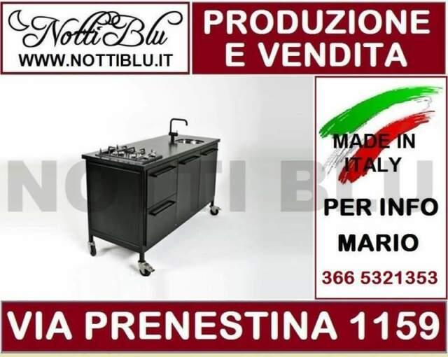 Cucina Monoblocco Notti Blu SE 294 _ Cucine Monoblocco a