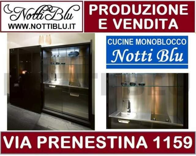 Cucina Monoblocco Notti Blu SE300 _ Cucine Monoblocco a Roma