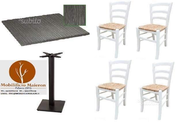 Set cod 110 Sedie Tavoli Ristorante Pizzeria Pub Bar nuovi