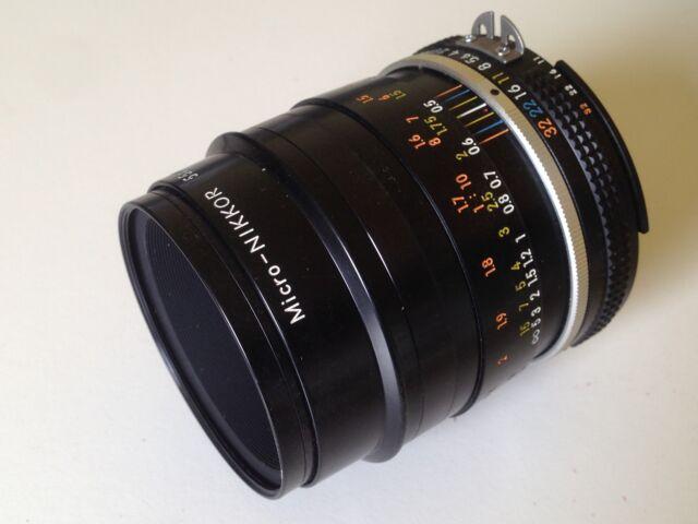 Obbiettivo Nikon Micro-NIKKOR 55mm f/2,8 AI-s