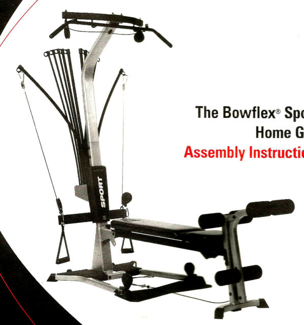 Panca Total Body building Bowflex Sport Fitness