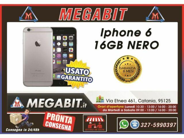 Iphone 6 16gb nero con garanzia
