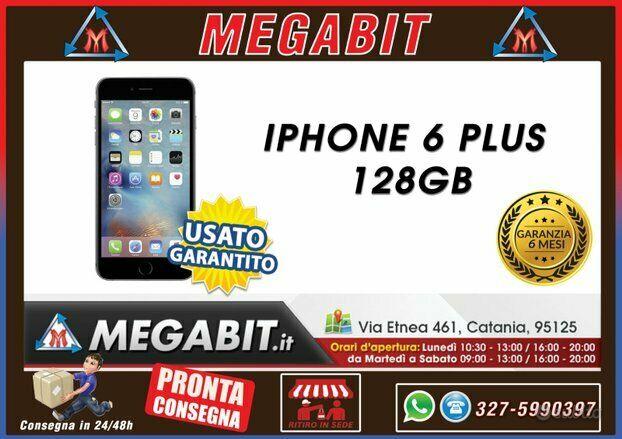 Iphone 6 PLUS 128GB con garanzia
