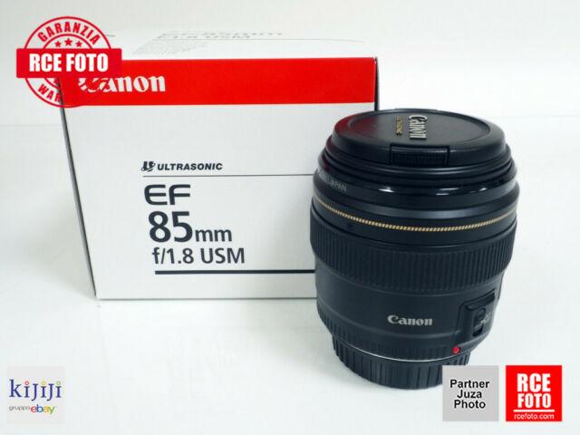 Canon EF 85 F1.8 USM (Canon)