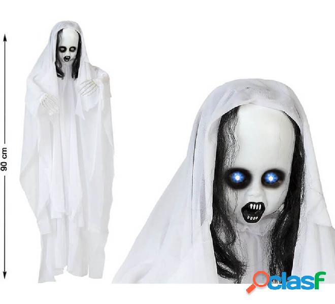 Fantasma sospeso con luce e suono di 90 cm
