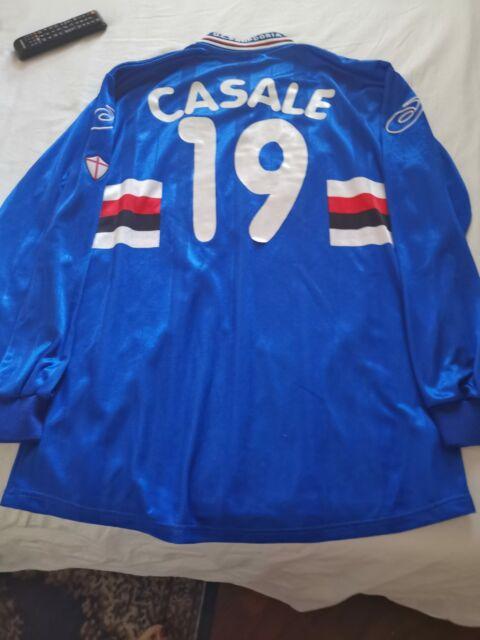 Maglia Sampdoria indossata da andrea Casale
