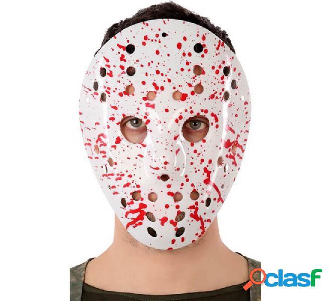 Maschera da giocatore di Hockey con sangue
