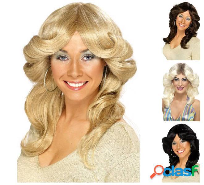 Parrucca da uomo anni '70 per le donne in vari colori