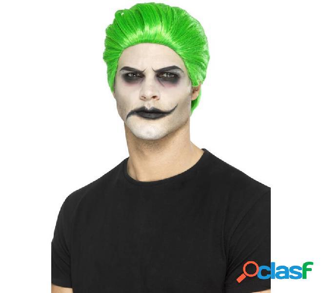 Parrucca verde joker