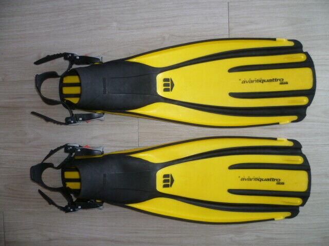 Pinne Sub Mares Avanti Quattro e Scubapro Twin Speed