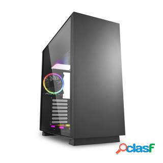 Sharkoon Pure Steel RGB Middle Tower Vetro Temperato No