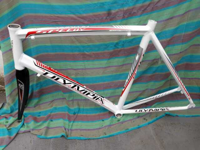 Telaio in alluminio bici da corsa Olimpia