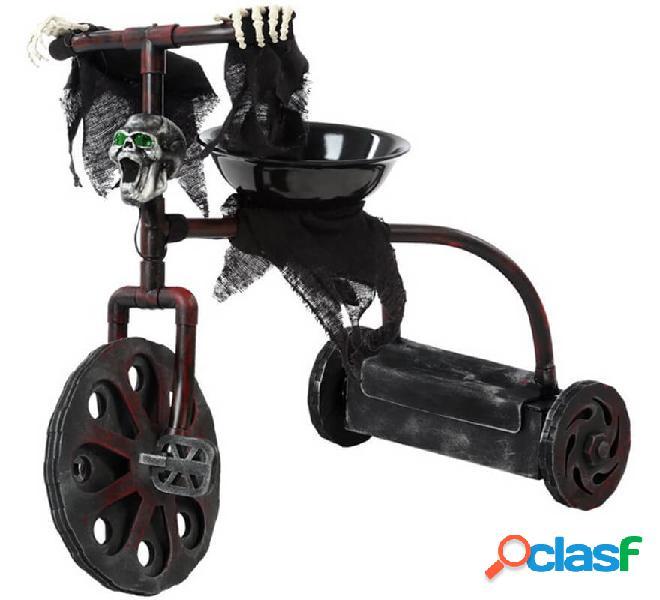Triciclo incantato con luce e suono di 55x45 cm