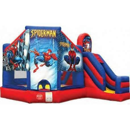 Affitto noleggio gonfiabili spiderman Enna