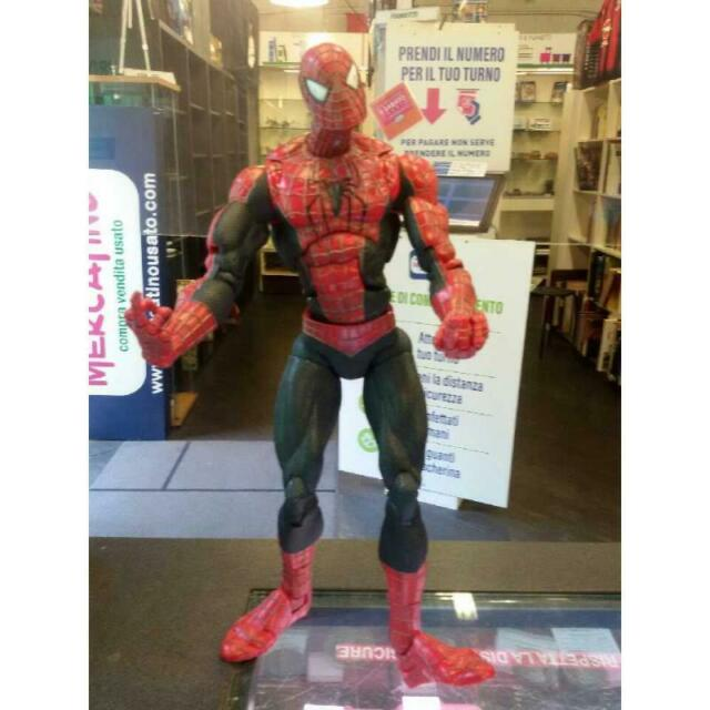 Pupazzo spider man marvel h.45 cm circa
