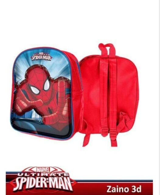 Zaino spider man 3d