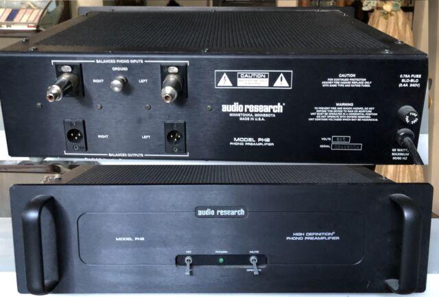 Audio Research PH2 PHONO PREAMP Black