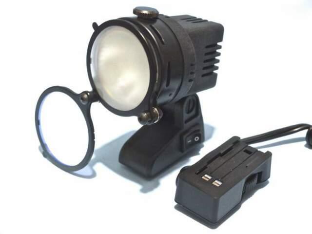 Faretto LUXMEN Video LUXSTAR L 505 kit con batteria