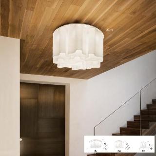 Lampada soffitto Compo  luci