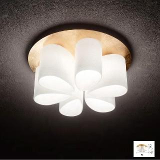 Lampada soffitto Daisy 6 luci