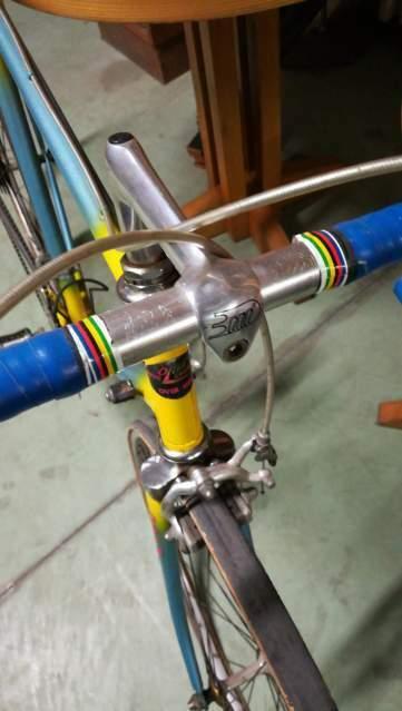 Bici corsa gara Eroica vintage