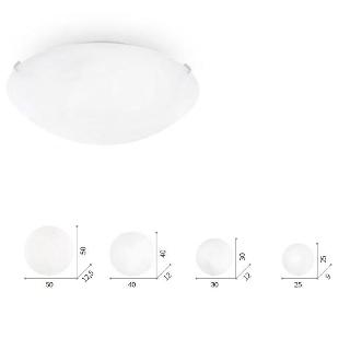 Lampada soffitto Simply  luci