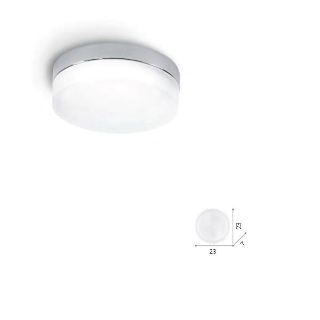 Lampada soffitto Toffee 1 luce