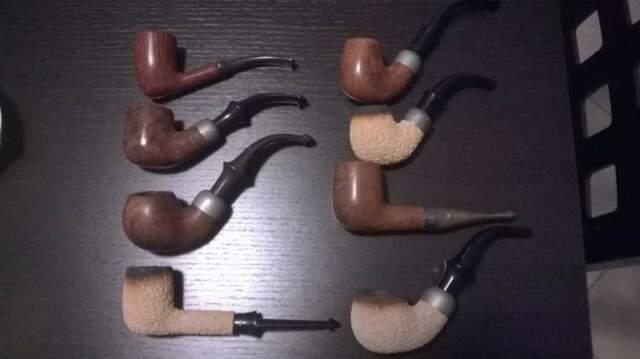 Pipe vintage PETERSON'S TUTTE NUOVE, MAI fumate, anni '80,