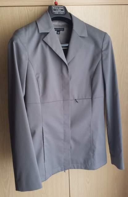 Completo Tailleur grigio Mandorlamara,Giacca + Pantalone Tg