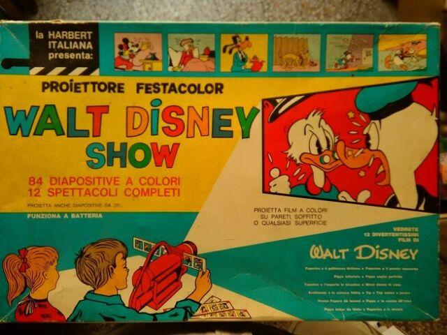 Proiettore festacolor walt disney show an
