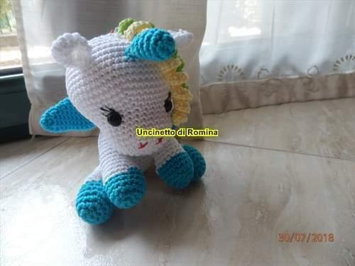 Unicorno amigurumi
