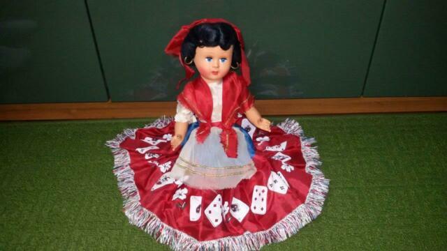 Antica bambola zingara gitana