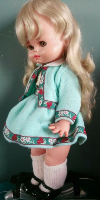 Bella bambola Zanini e Zambelli anni '60 perfetta