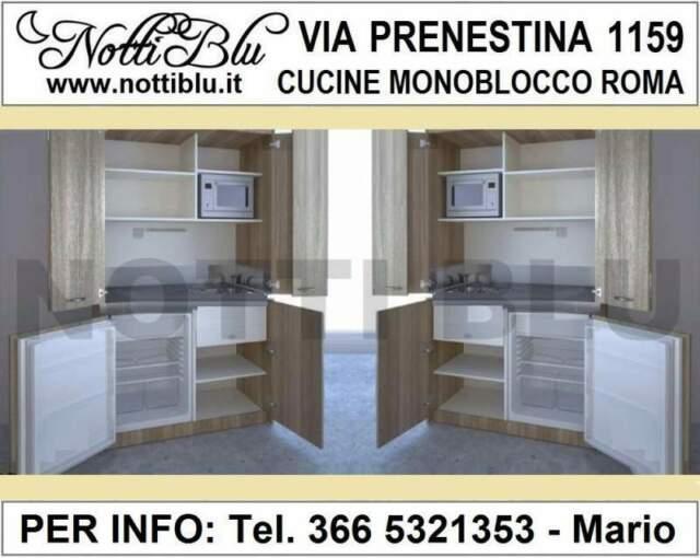 Cucina Monoblocco Roma VE121 _ Mini Cucina Via PRENESTINA