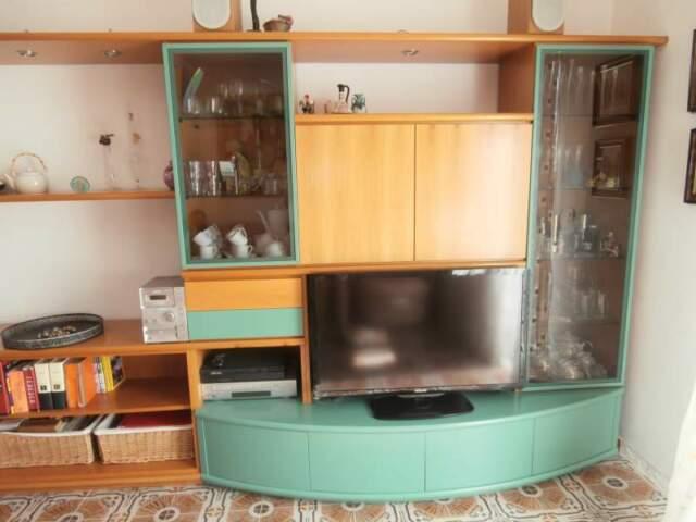 Mobile da salotto in legno massello