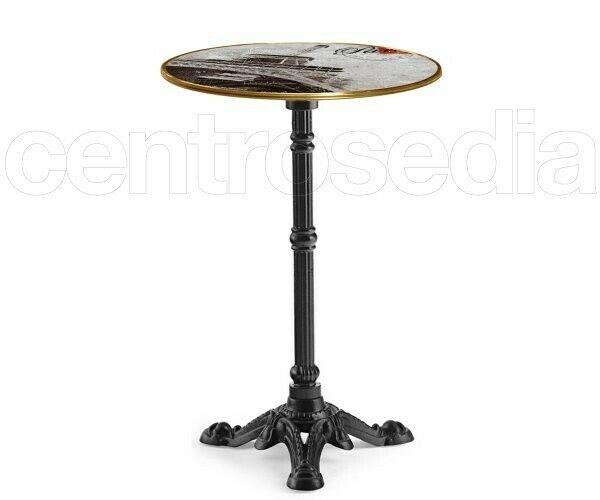 Sostegno tavolo, base in ferro ghisa