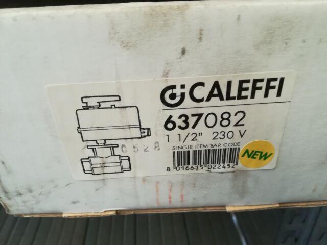 NUOVA Valvola motorizzata Caleffi  d.  V
