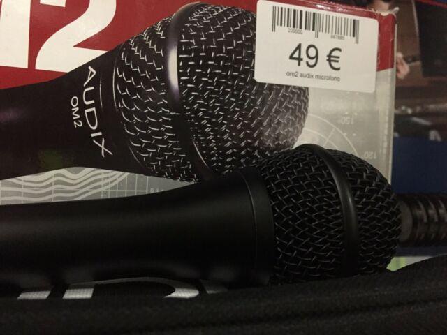 OM2 audix microfono