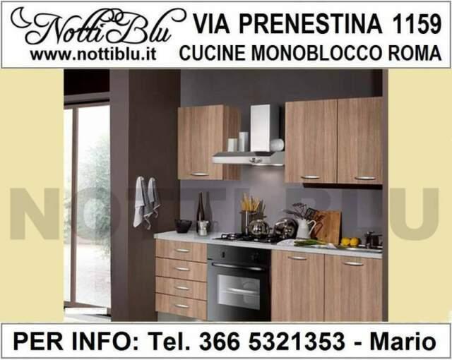 Cucina Monoblocco Roma VE103 _ Mini Cucina Via PRENESTINA