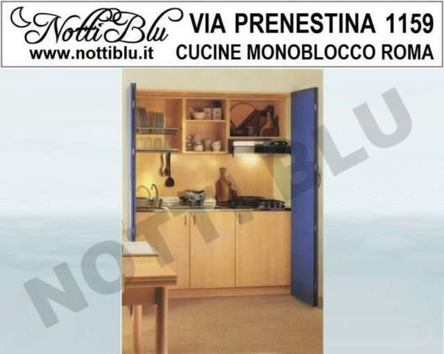 Cucina monoblocco a Scomparsa VE042 Mini Cucina Bluette L