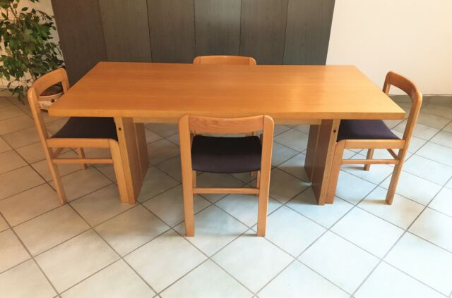 DISPONIBILE CONSEGNA, Tavolo legno massello con 4 sedie